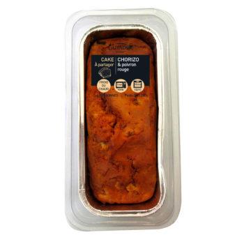 Cake Chorizo Poivrons rouges