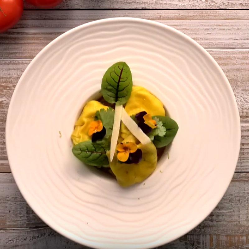 Guyader - Recette ravioles rillettes Saint-Jacques
